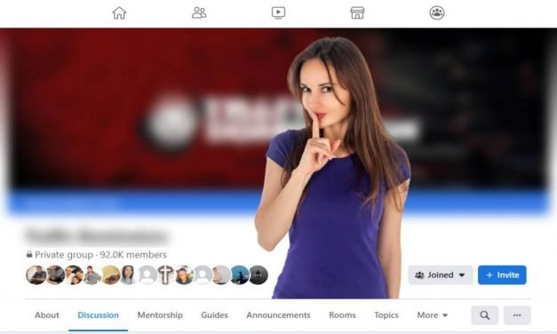Secret Facebook group that pays you to learn online marketing!